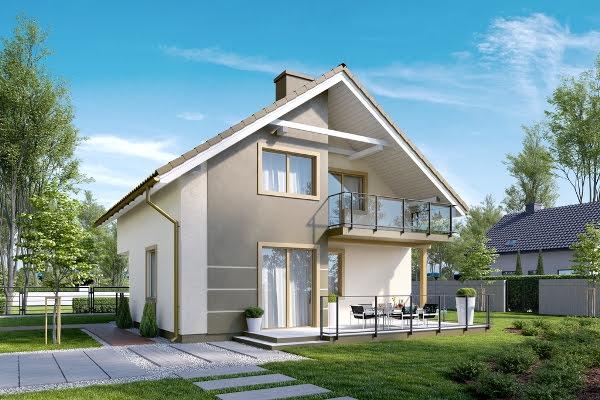 Dom Wawrzynów - KBprojekt