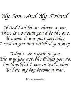 Happy Birthday wishes quotes for son and: if God had me choose a son