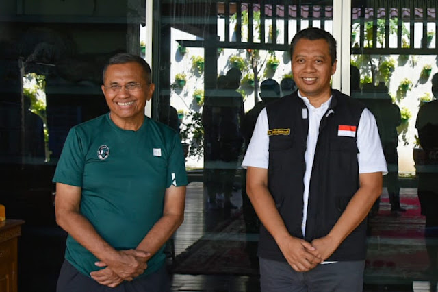 Dahlan Iskan dan Gubernur NTB Bang Zul