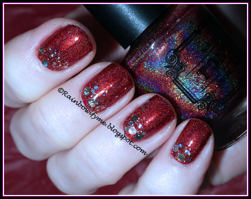 Dance Legend: Pretty Top and Tonic Polish: Santa Baby