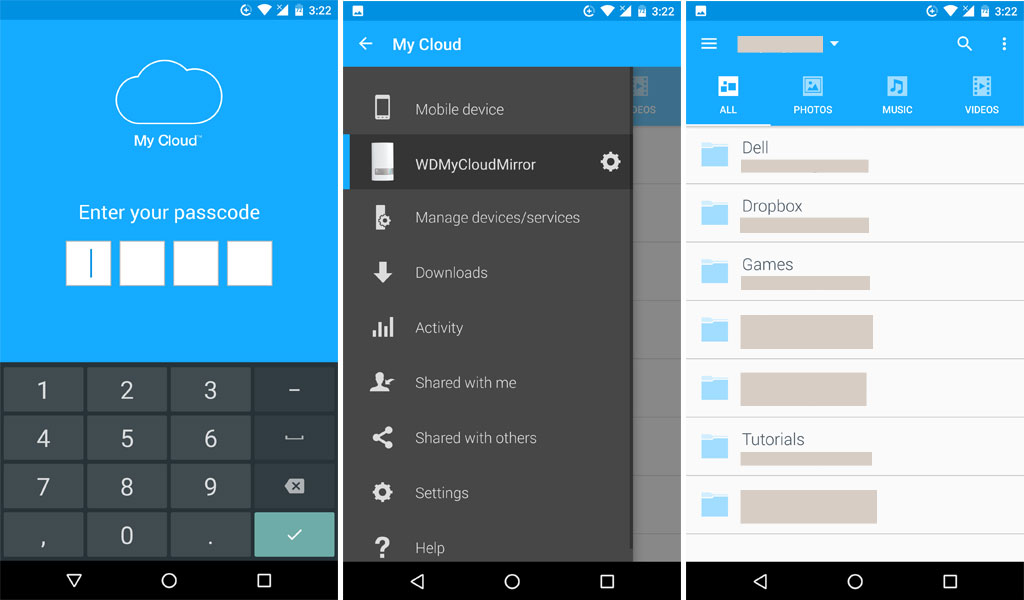 Wd mirror apps for android