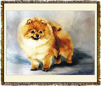 Pomeranian blanket throw tapestry