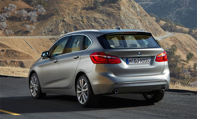 BMW 2-Series Active Tourer rear view