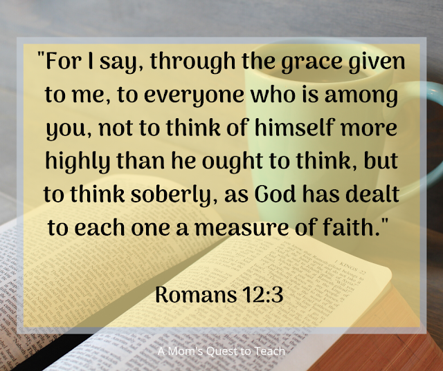 Romans 12:3 quote
