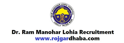 PGIMER & Dr. Ram Manohar Lohia New Delhi Hospital Recruitment