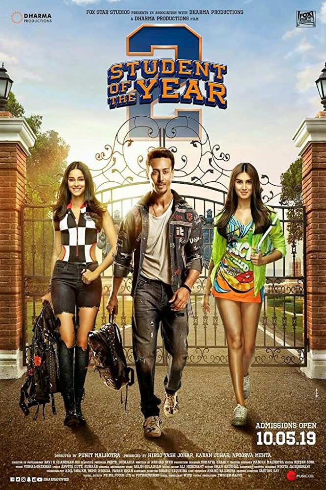 Student of the Year 2 (2019)