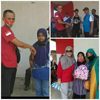Kepala Desa Penuba, ketua Melayu Raya  dan PKk Desa Penuba Siapkan Kado Bagi Warga Kelahiran 17 Agustus