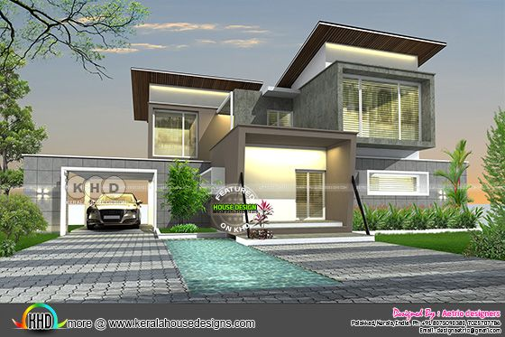 2750 square feet home design