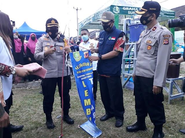 Wali Kota Sukabumi dan Kapolres Resmikan Lembur Tohaga