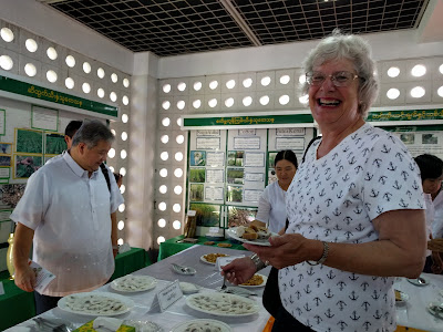 Myanmar Department of Agriculture Research hosts IRRI Board meetings