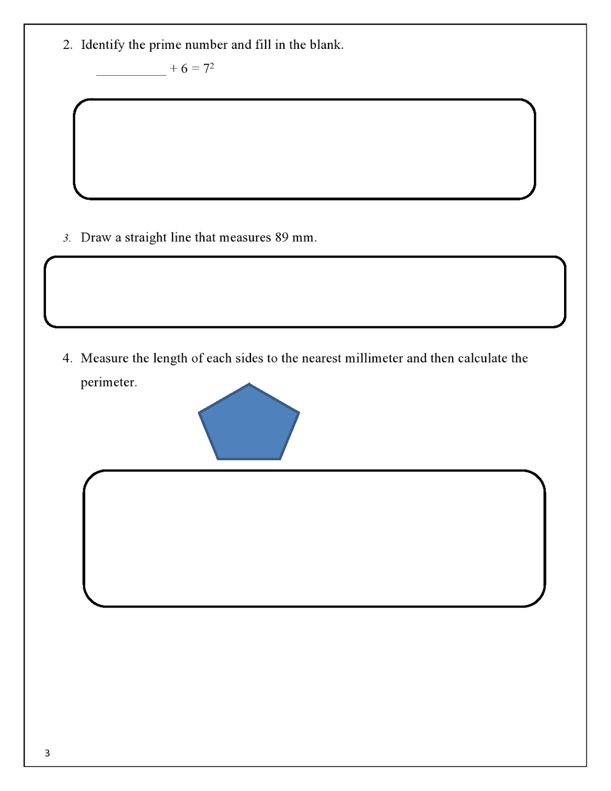 Birla World School Oman Revision Worksheet For Grade 6 02
