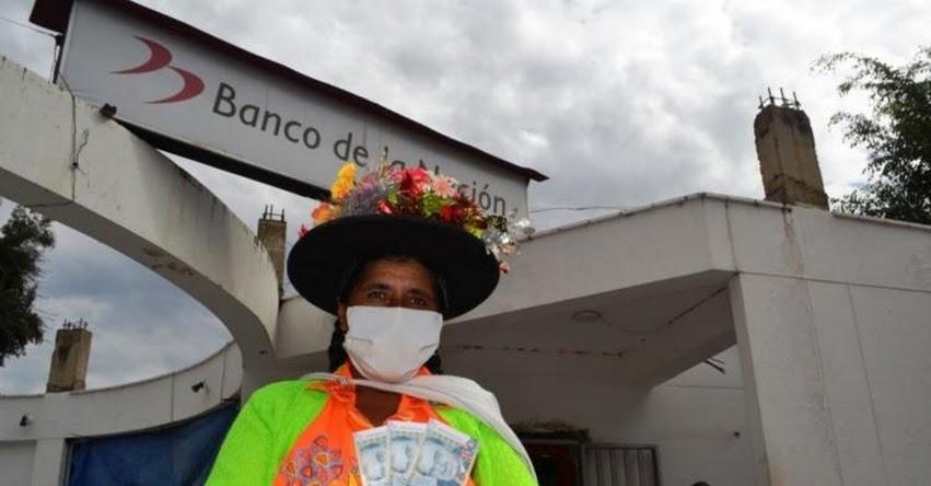 BANCO DE LA NACIÓN: Desde muy temprano empezó la entrega del Bono 600 - www.bono600.gob.pe