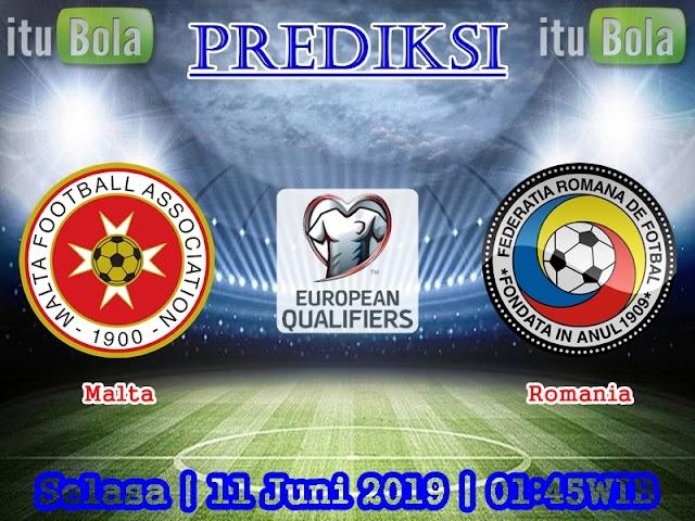 Prediksi Malta vs Romania - ituBola