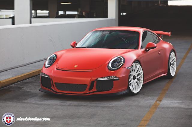 Porsche 991 GT3 with HRE Wheels - #Porsche #GT3 #HRE #Wheels #tuning
