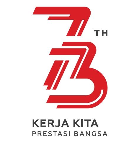 Tema dan Logo Resmi Peringatan HUT ke-73 Kemerdekaan RI Tahun 2018