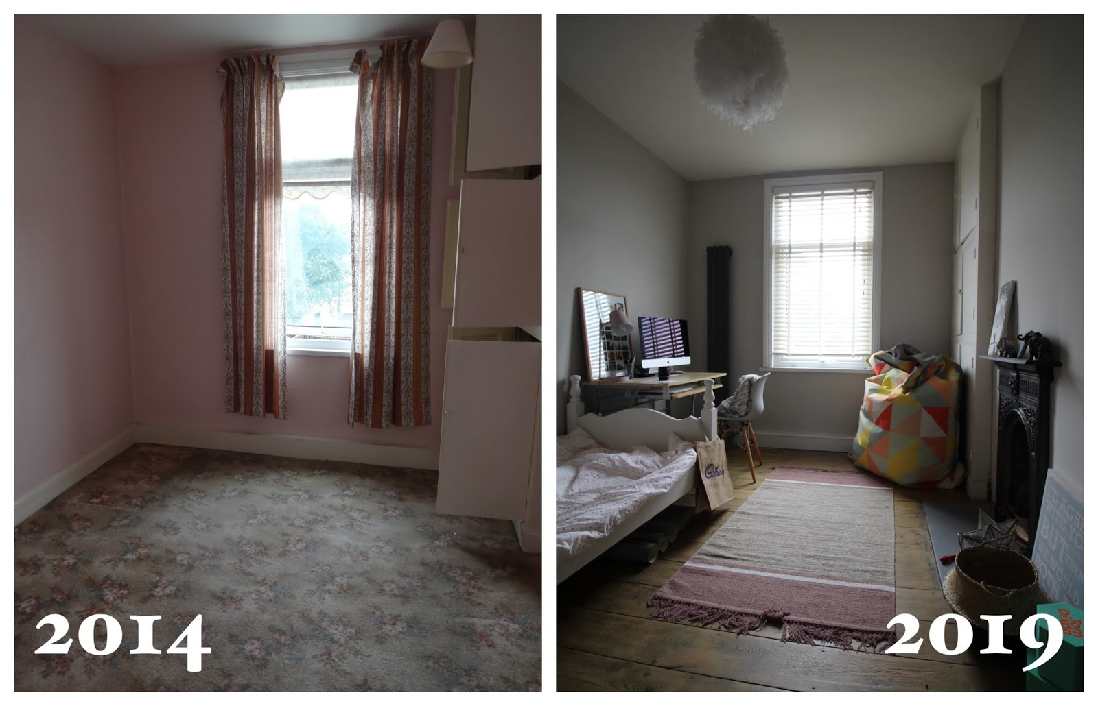 small bedroom renovation before and after 5 years