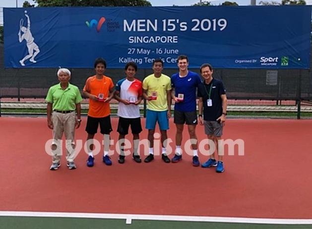 David Agung Susanto Raih Gelar Juara ITF Singapura 15K