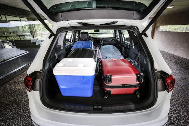 VW Tiguan AllSpace 2019 R-Line - porta-malas