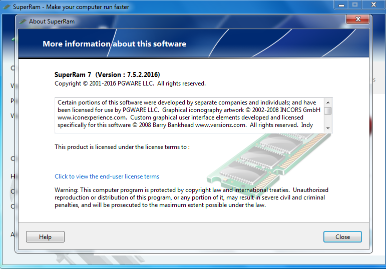 Download PGWARE SuperRam 7.5 Terbaru Full Version