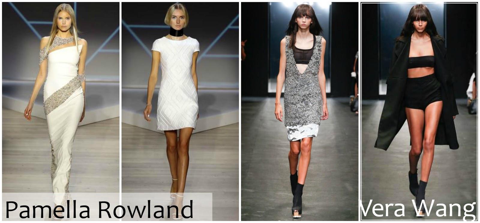 Pamella Rowland Vera Wang runway fashion
