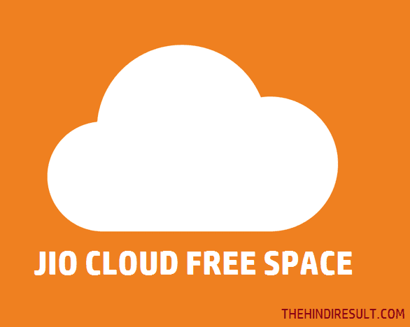 jiocloud free space