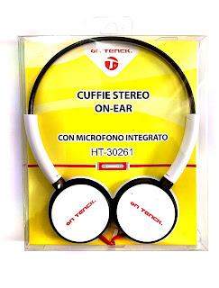 cuffie stereo cablato pieghevole on tenck 30261