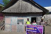 Sambut HUT Lantas Ke 65, Satlantas Polres Jeneponto Berbagi Sembako di Desa Palajau