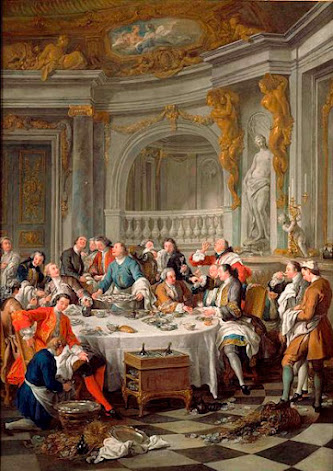 Sala da pranzo nell'arte. I documenti del cambiamento.