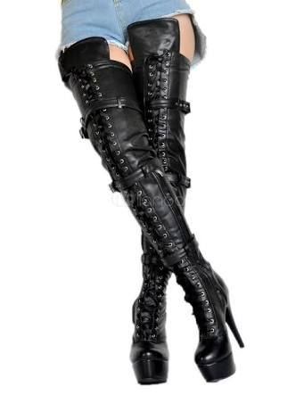 979ac909b7b Set up your sexiest performance through these fancy thigh knee length  booties for every daily walks and run to the dance floor or simply take  walk around ...