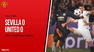 Sevilla vs Manchester United 0-0 Highlights Liga Champions