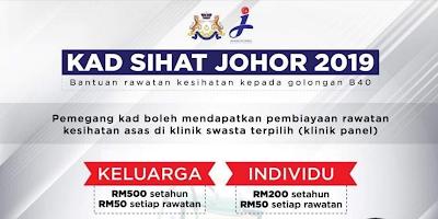 Semakan Status Kad Sihat Johor 2019 Online