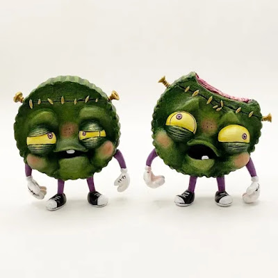 REJECTS Custom Franken-Cup Vinyl Figures by One Eyed Girl x Martian Toys