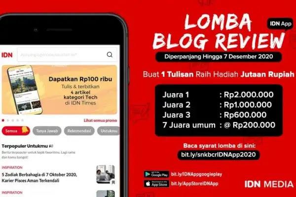 Lomba Blog Review Aplikasi IDN