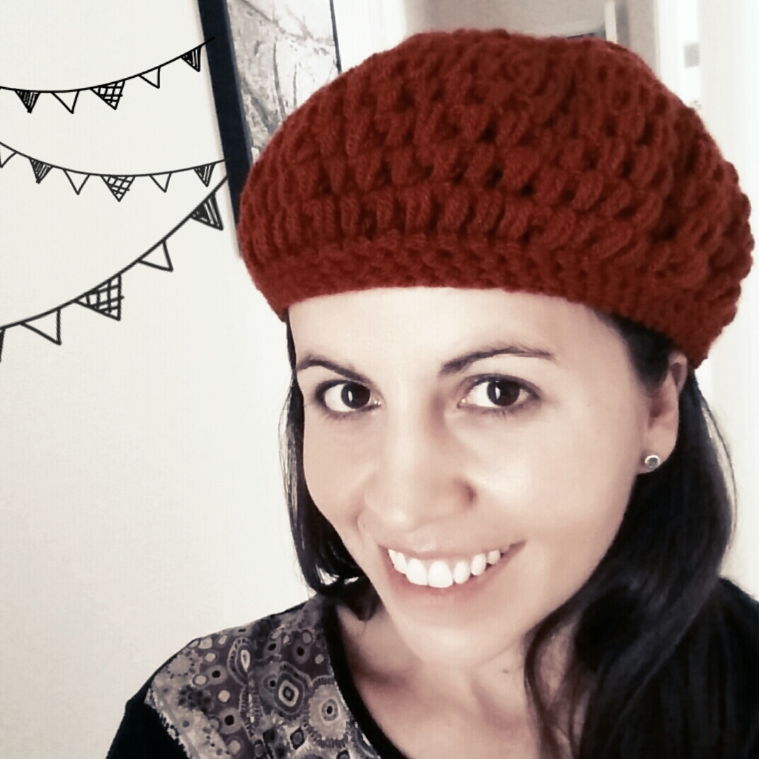 boina a crochet - ahuyama crochet