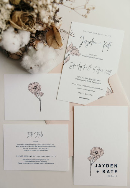 bryce and lauren photography gold coast luxe wedding invitations menus signage