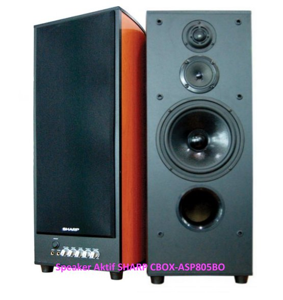 Speaker Aktif Sharp XBASS Bluetooth