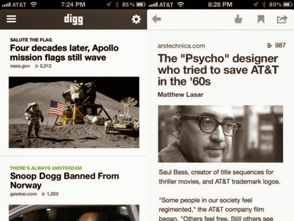 The mega fast Digg revivial