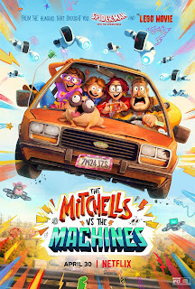 The Mitchells vs. The Machines[2021][NTSC/DVDR-Custom HD]Ingles, Español Latino
