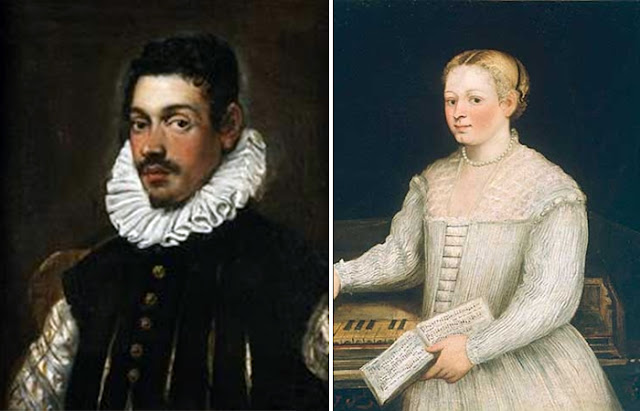 Retratos de Domenico e Marietta Robusti (Tintoretto)
