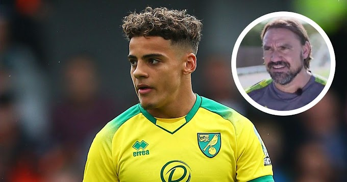 'I wouldn't sell him, not for £100M': Norwich's coach Farke speaks on Barcelona target Max Aarons