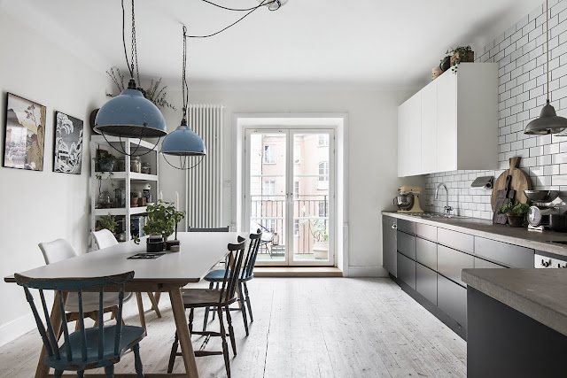 Fantastic look in scandinavian interior