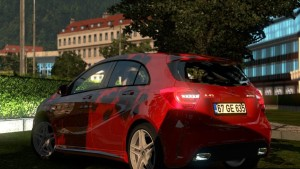 Mercedes Benz A45 Car