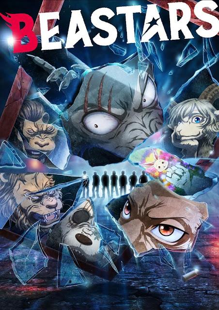 Plakat anime Beastars 2