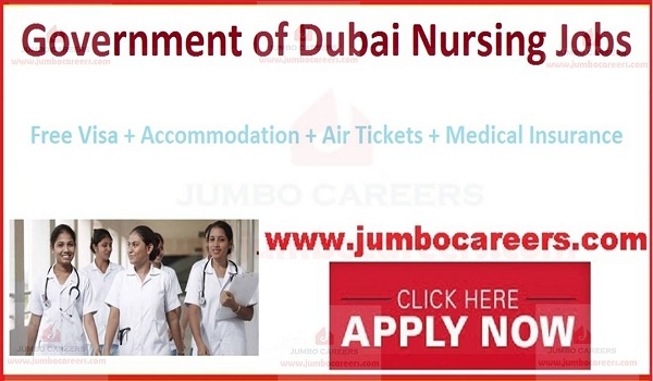 Nursing Job vacancies in UAE,