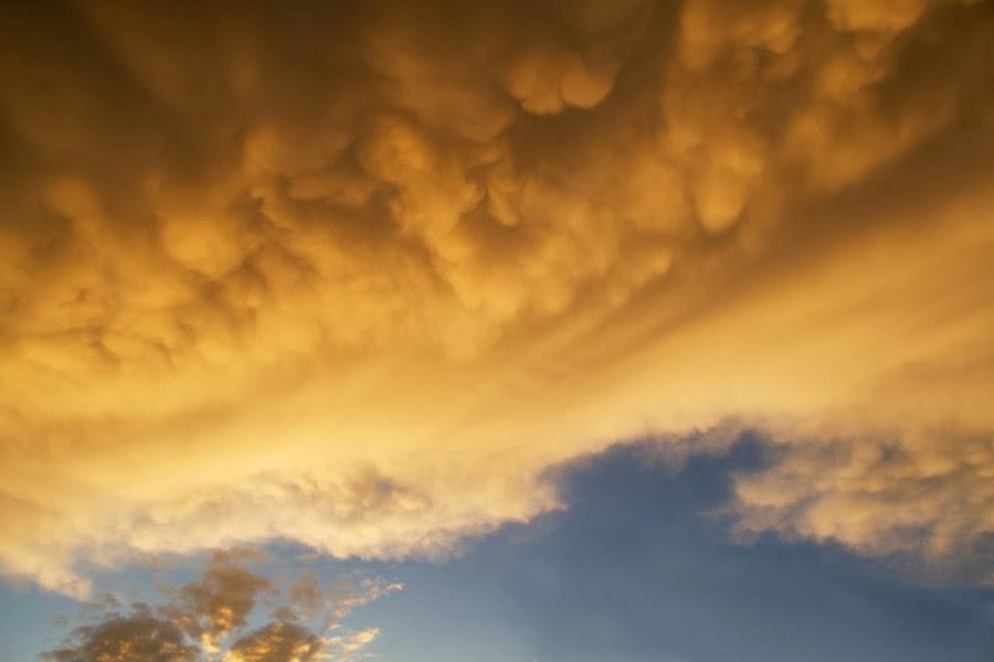 FONDOS PARA FOTOS Cielo con Nubes Amarillas - fondo nubes