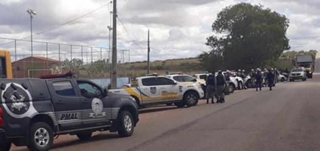 Após confusão em blitz no Distrito de Piau em Piranhas, BPRV prende suspeitos de agredir policiais
