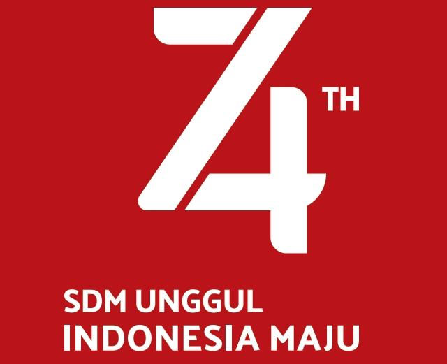 Tema HUT RI ke-74 Tahun 2019 Beserta Logo Resminya