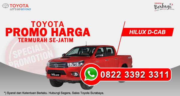 Promo Harga Toyota Hilux D-Cab Surabaya