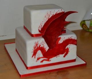 Dragon Age Cake