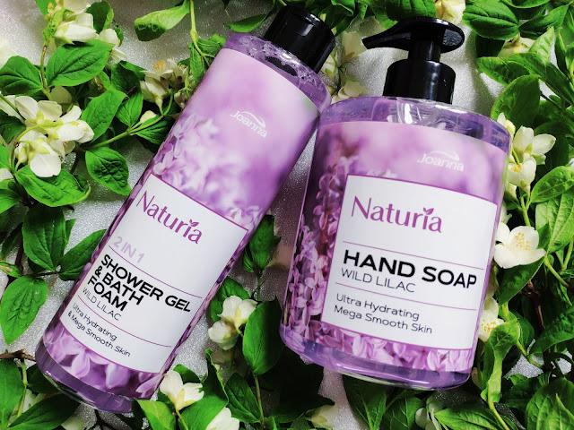 Naturia od Joanna Laboratorium - Żele i mydła do rąk pachnące bzem i różami